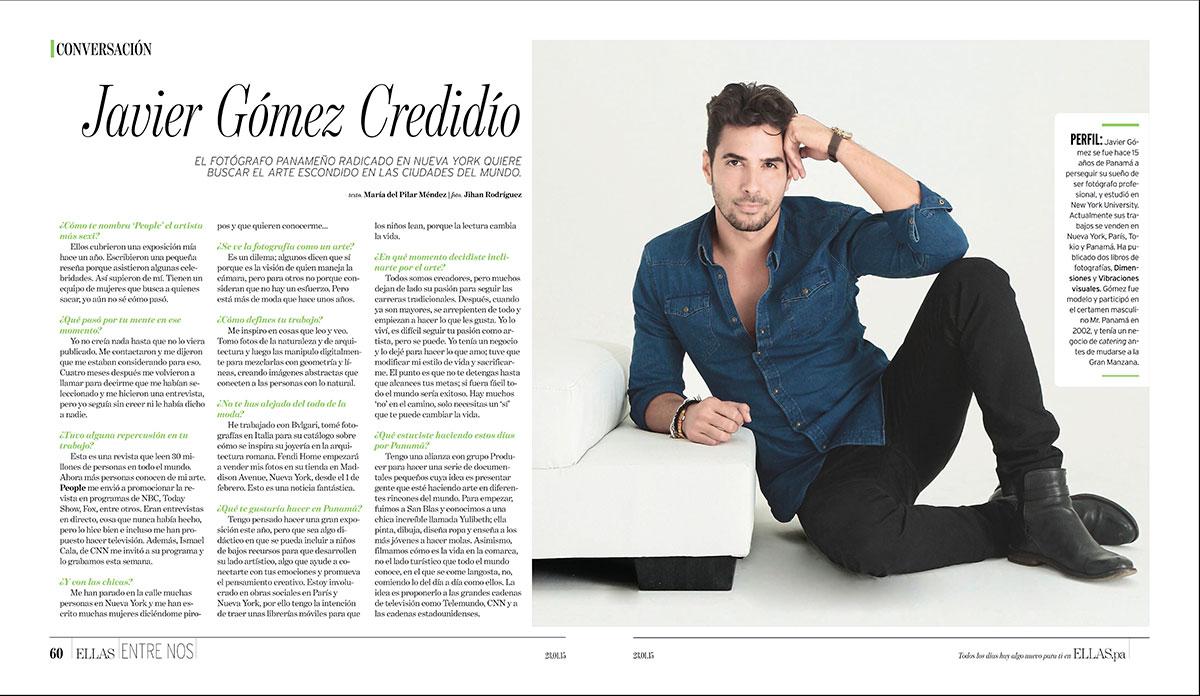 Javier Gomez Credidio En Busca Del Artejg Photography Ny
