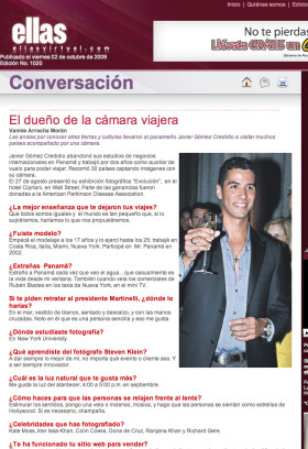 Ellas Revista Panamá Javier Gomez Photographer