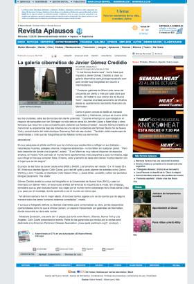 La Gallería Cibernetica de Javier Gomez Credidio
