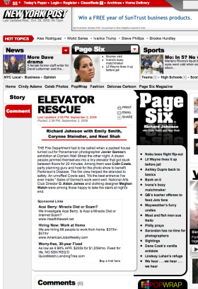 Elevator Rescue Javier Gomez New York