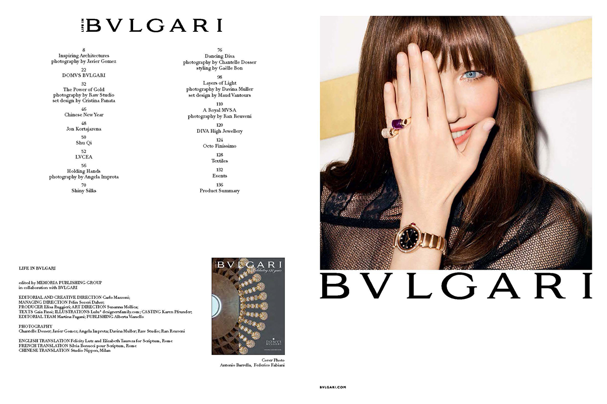 Bvlgary Photo Collection Javier Gomez Photography