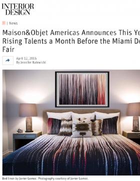 Maison & Object Americas Talent Javier Gomez